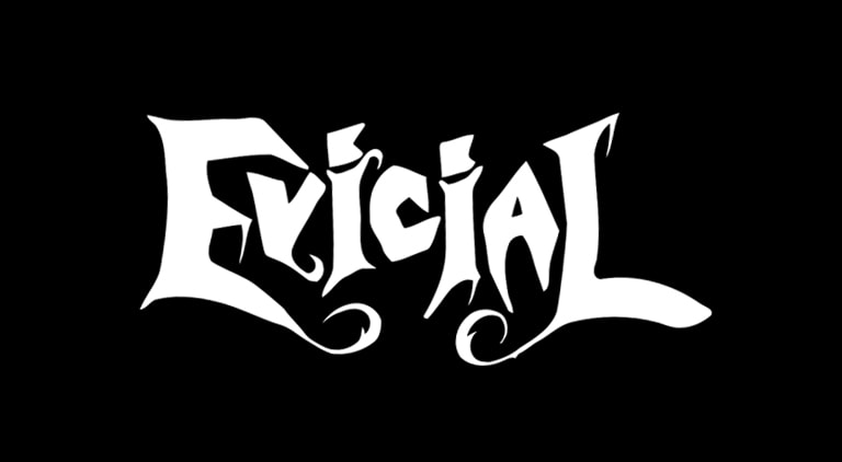 Evicial - Logo - Arctic Wolf Design