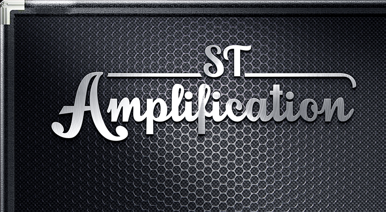 ST Amplification - Logo - Arctic Wolf Design