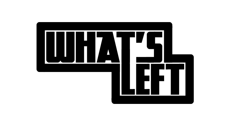 What's Left - Logo - Arctic Wolf Design