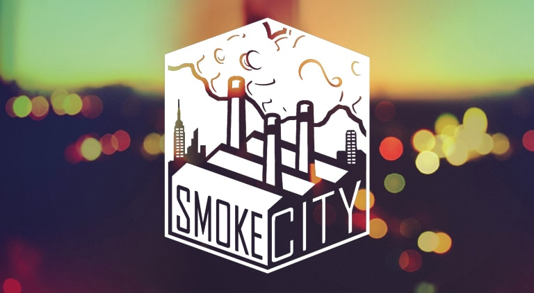 Smoke City - Logo - Arctic Wolf Design