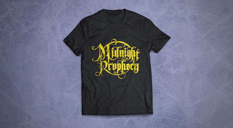 Midnight Prophecy - Logo - Arctic Wolf Design