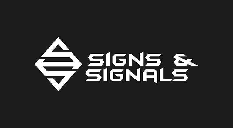 Signs and Signals - Logo - Arctic Wolf Design