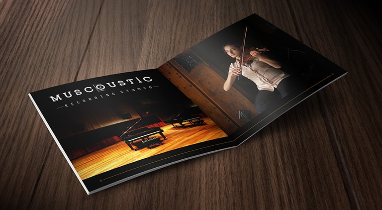 Muscoustic - Brochure - Arctic Wolf Design