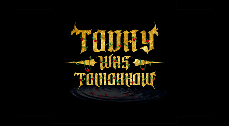 Today Was Tomorrow - Logo - Arctic Wolf Design